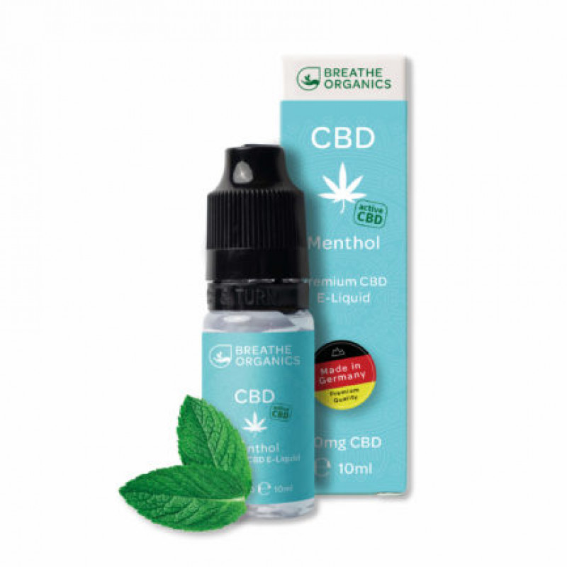 Liquid 300mg CBD menthol