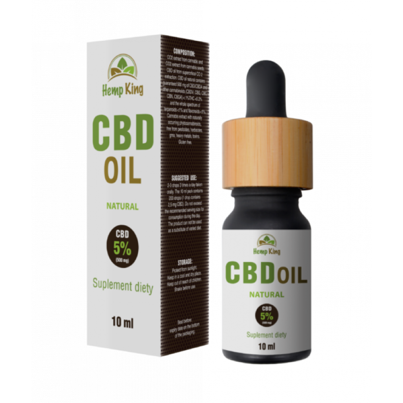 CBD NATURAL OIL 5%