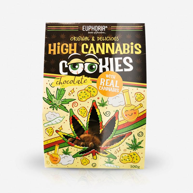 HIGH CANNABIS COOKIES chocolate hemp cookies