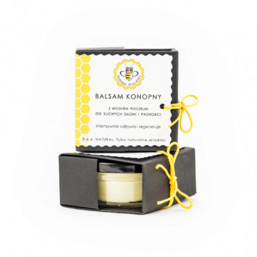 HEMP BALM FOR HANDS AND NAILS