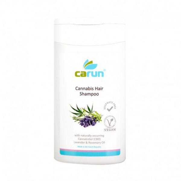 Hemp hair shampoo with cannabidiol (CBD)
