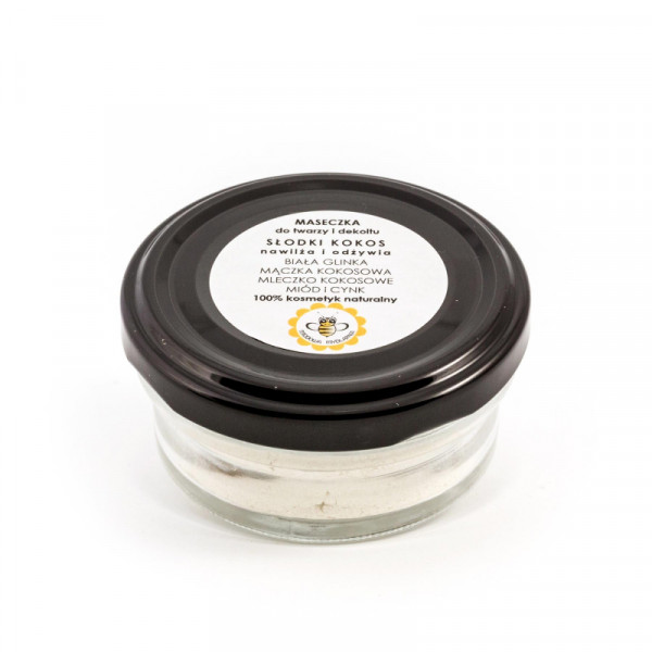 SWEET COCONUT face and neck mask