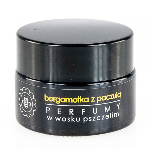 Perfume in beeswax BERGAMOTKA WITH Patchouli