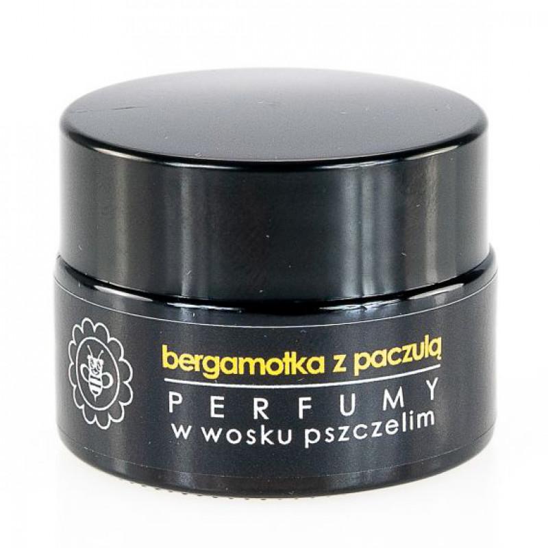 Perfume in beeswax BERGAMOTKA WITH Patchouli