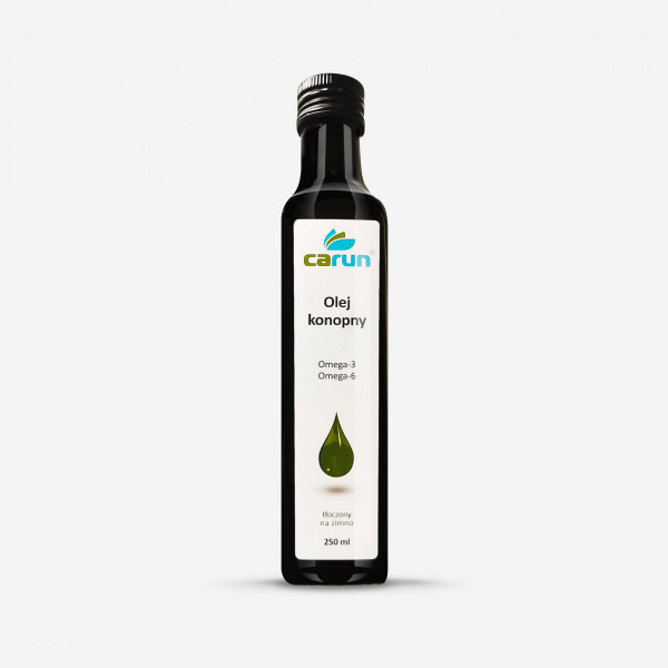 Hemp seed oil 250 ml