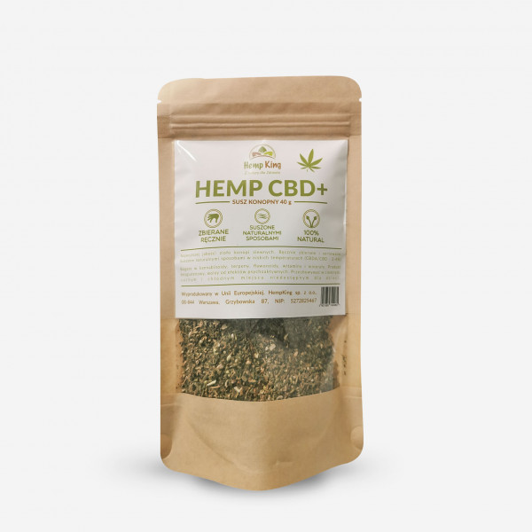 Hemp King Hemp CBD + dried hemp